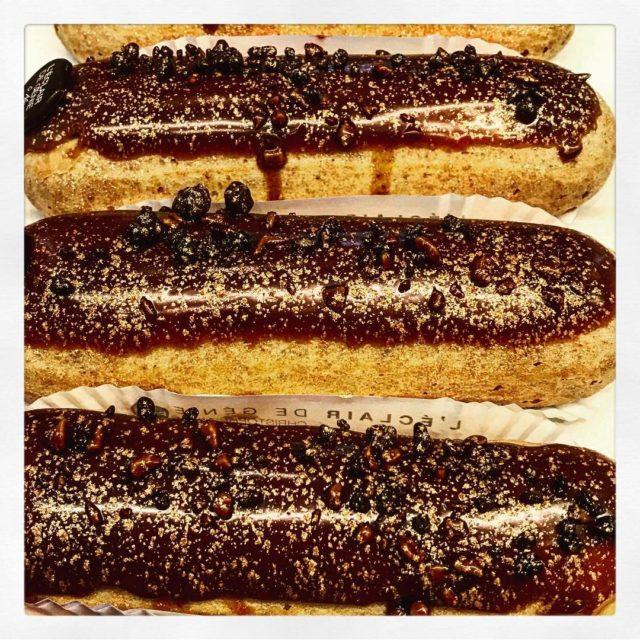 eclairs leclairdegenieofficiel christopheadam chocolate saltedbutter paris pastry patisserie foxcroftpastry foxcroftfoodhellip
