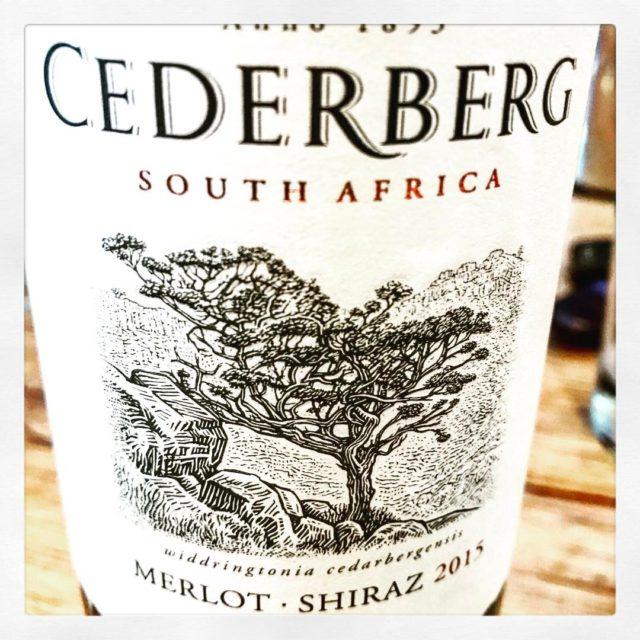 cederwyn Shiraz merlot 2015 tasting pieterdutoit openwineza walestreet whaletalesblog lovemylife