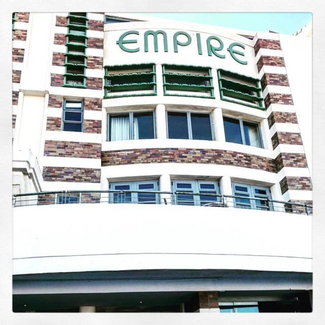 empire building on Muizenberg beachfront with DonovenGloy dongloy1 sundayafternoon beachhellip