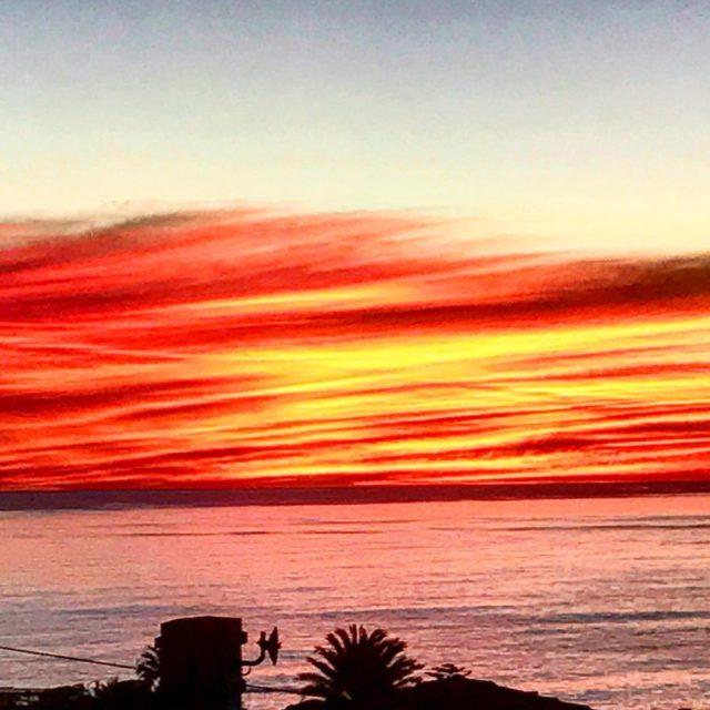 sunset nofilter seapoint fresnaye whaletalesblog atlanticseaboard capetown lovemylife