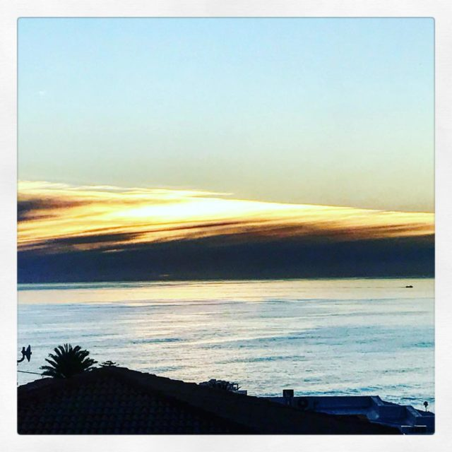sunset over atlanticseaboard seapoint from fresnaye whaletalesblog lovemylife
