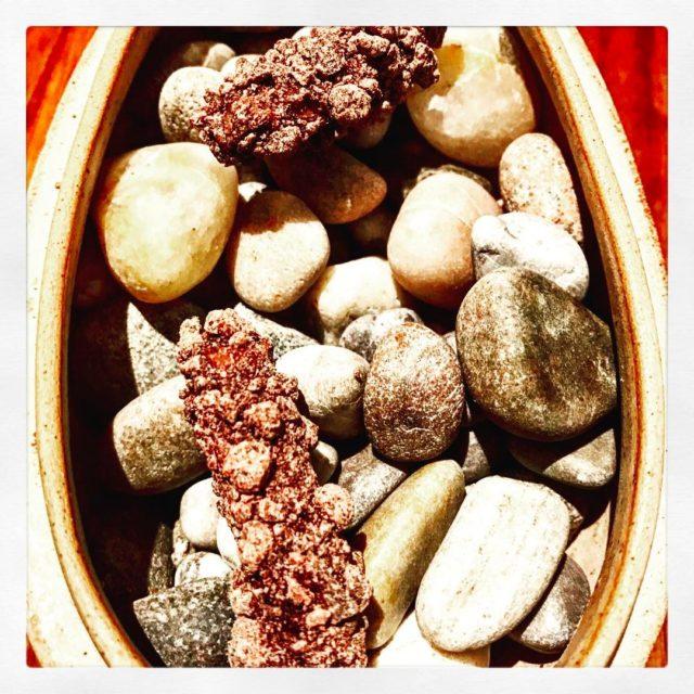 friandise chocolate apple cinnamon on pebbles feraatclaridges claridgeshotel michelinguide 1starhellip