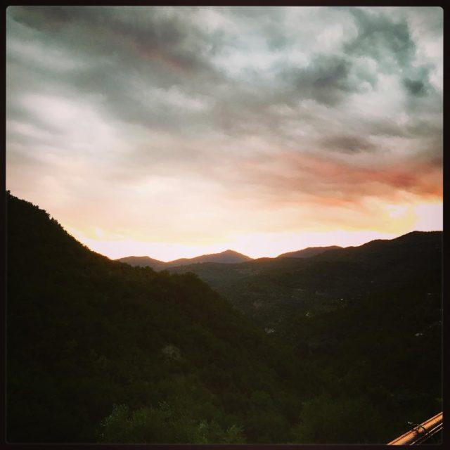 sunset apricale apricuslocanda liguria italy whaletalesblog lovemylife
