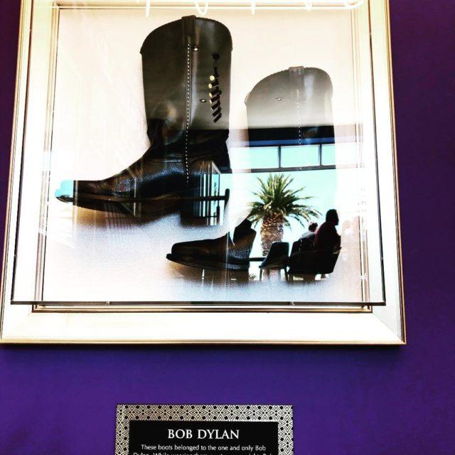 bobdylan boots at hardrockcafe campsbay capetown whaletalesblog lovemylife