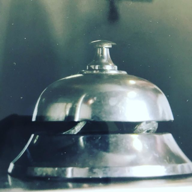 Service bell at janhendrik JAN restaurant Nice restaurant onestar michelinguidehellip