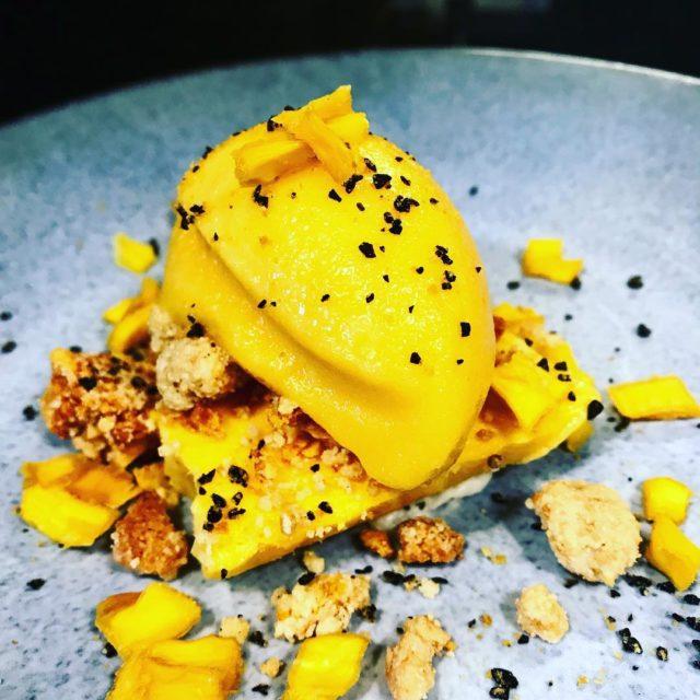 mango passionfruit honeycomb dessert at janseandco kloofstreet capetown whaletalesblog lovemylife