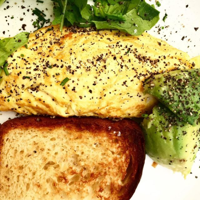 omelet creamcheese toast rocket breakfast celebration with elizefab capetown hemelhuijshellip