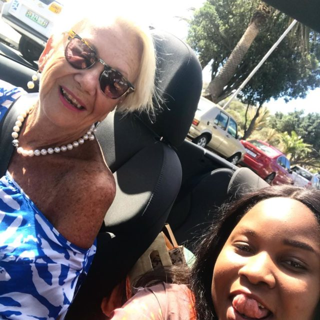 With Leahmatongo driving to campsbay lovemylife